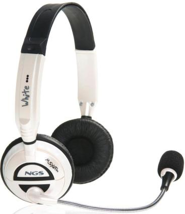 AURICULARESMICRO NGS MSX6 PRO WHITE