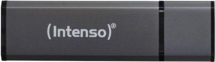 PENDRIVE 64GB USB2.0 INTENSO ALU LINE ANTRACITA