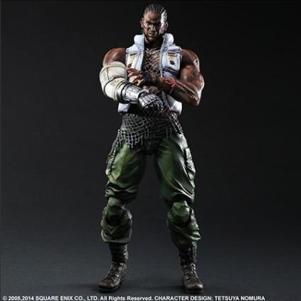 FIGURA PLAY ARTS FINAL FANTASY VII ADVENT CHILDREN BARRET 28