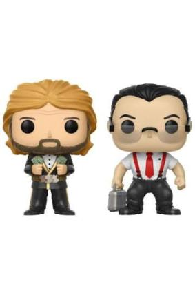 FIGURA POP WWE PACK: IR & MILLION DOLLAR MAN