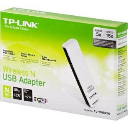 ADAPTADOR DE RED WIFI TP-LINK TL- WN821N