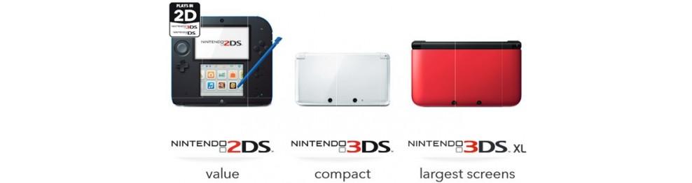 Nintendo 2DS-3DS-3DS XL
